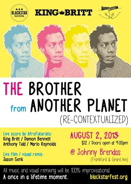 Brother from Another Planet flyer.