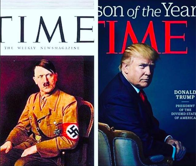 Time Trump Hitler